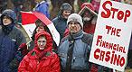 Islandia le para los pies a los banqueros